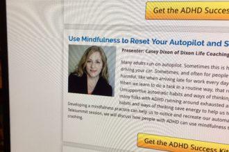 Use Mindfulness to Reset Your Autopilot [Telesummit Audio Recording]