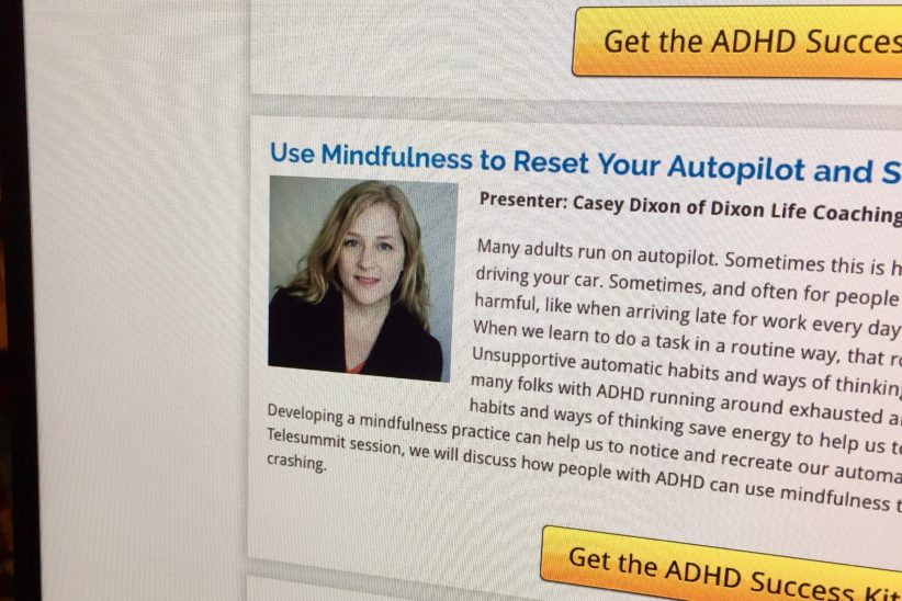 Use Mindfulness to Reset Your Autopilot [Telesummit Audio Recording]